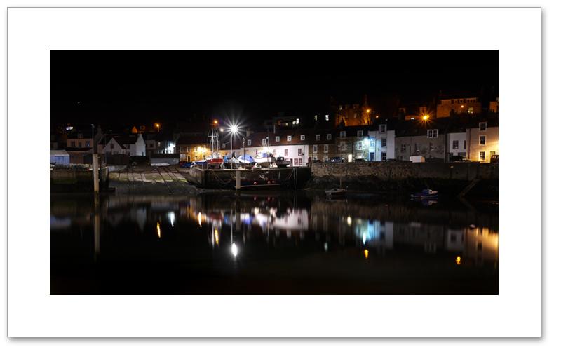 The harbour & West Shore, St Monans, East Neuk, Fife