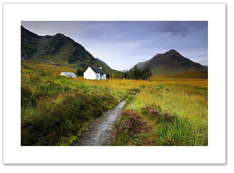 Early sun, Lagangarbh ll, Glen Coe, Argyll & Bute