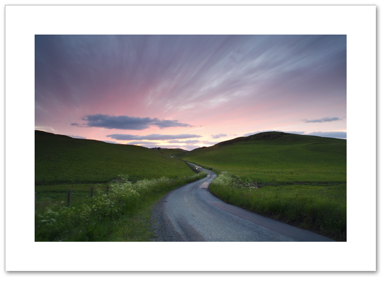 The long and winding road II, Ochil Hills