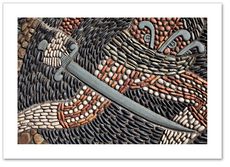 Mosaic XI - Sword Whitehaven