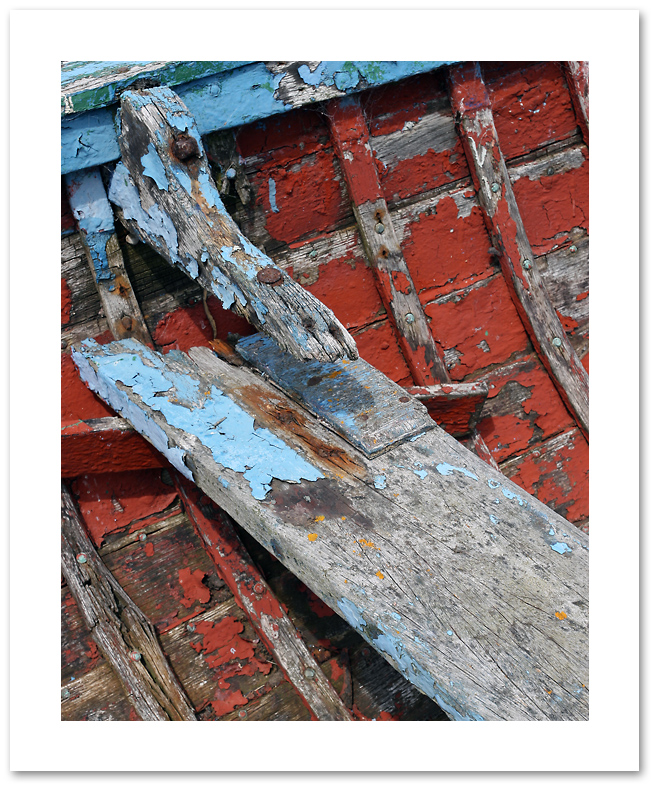 Old lifeboat detail