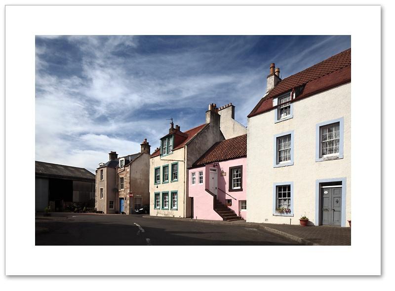 Virgin Square, St Monans, east Neuk, Fife