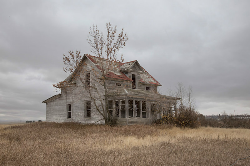 Abandoned House North Dakota