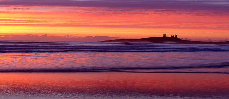 Dunstanburgh Castle at Dawn EDC041 - England