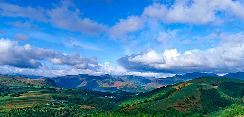 Derwent Water and the surrounding Fells EDC120 - Lake District