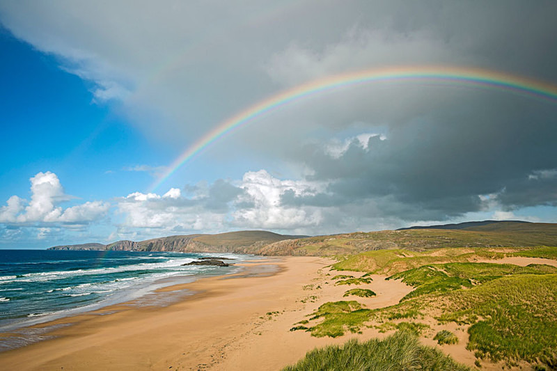 Passing Shower, Sandwood Bay and Cape Wrath,Sutherland EDC153 - Scotland