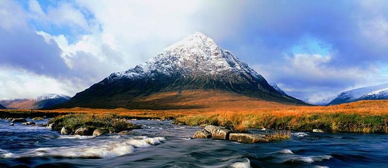 Buachaille Etive Mor, River Etive, Glencoe and Rannoch Moor EDC013 - Scotland