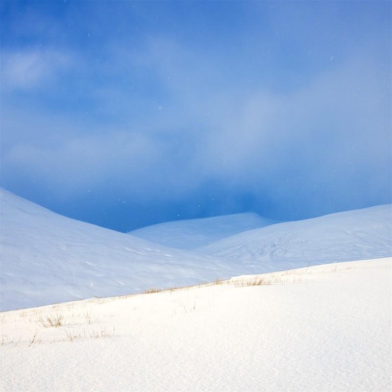 Snow shadows EDC287 - Scotland