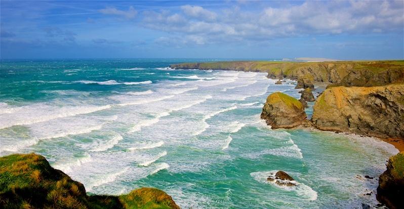 Storm Doris, Bedruthan Steps, Cornwall EDC265 - Cornwall