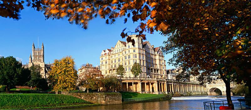 Bath Abbey and Empire Hotel, Bath EDC133 - Bath
