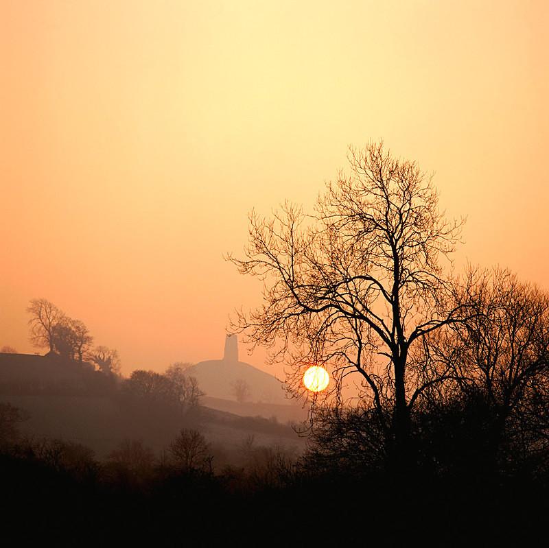 Late Winter Sun, Glastonbury Tor, Somerset EDC052 - England