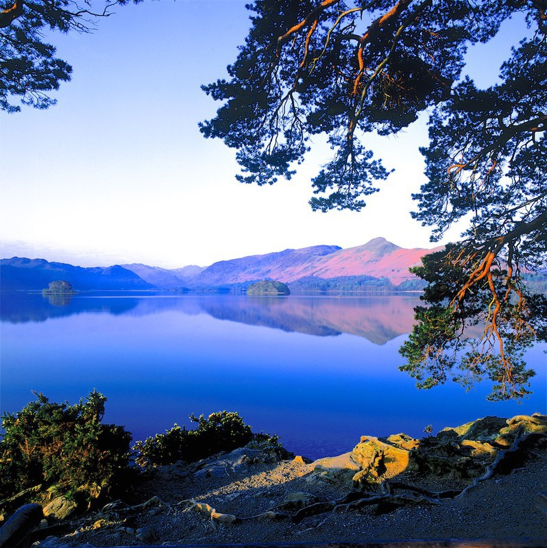 Dawn, Derwent Water and Catbells, Lake District  EDC082 only available - Lake District