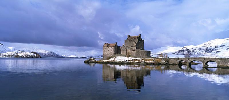 Eilean Donan Castle, Dornie, by Kyle of Lochalsh EDC053 - Scotland