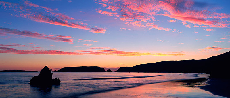 Marloes Sands at Sunset, Pembrokeshire EDC024 - Wales