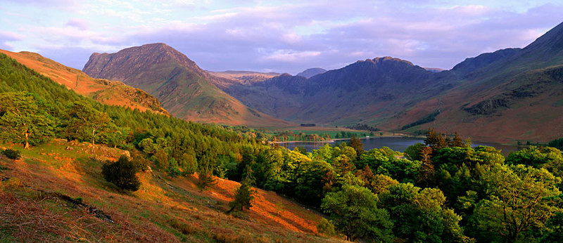 Buttermere, Haystacks  and Fleetwith Pike EDC007 - Lake District