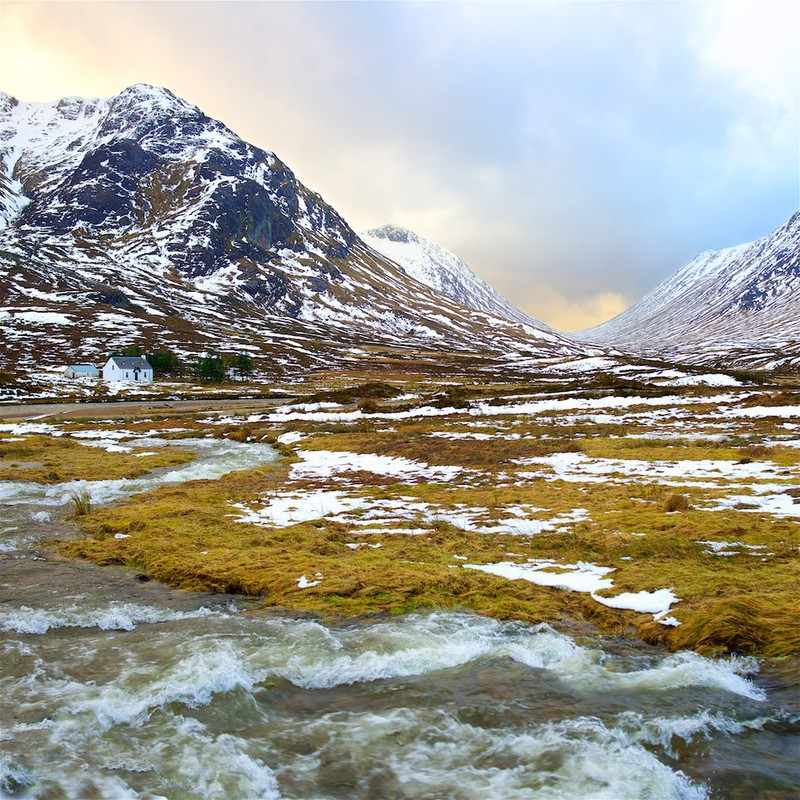Croft with a view, Glencoe EDC286 - Scotland