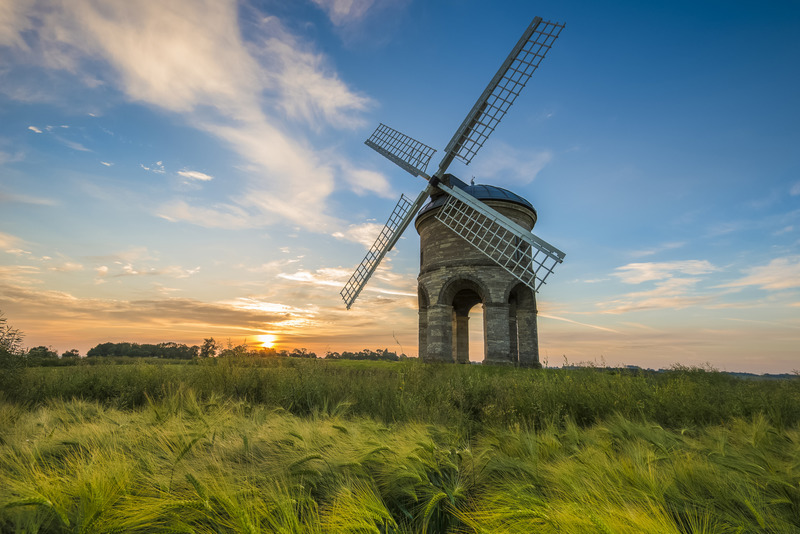 Chesterton Mill Summer Dawn - Local Landscapes