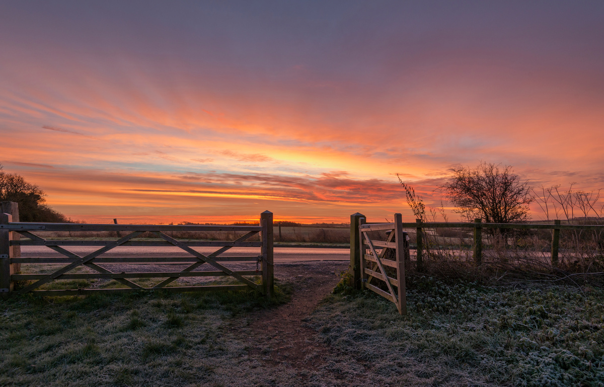 A Winters Morning - Local Landscapes