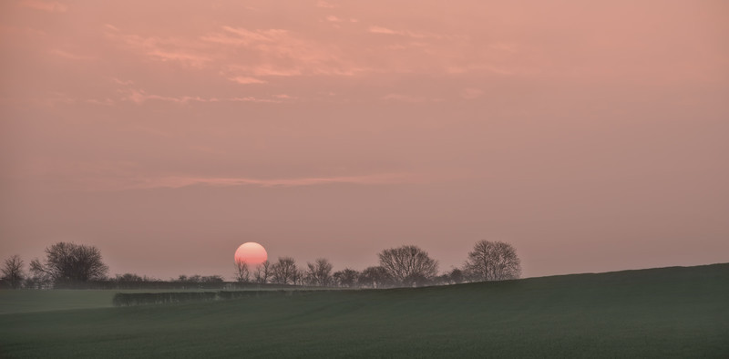 Sunrise Thursday 9th April 2015 - Early Mornings