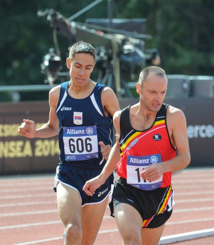 Race - Swansea IPC European Athletics Championships 2014