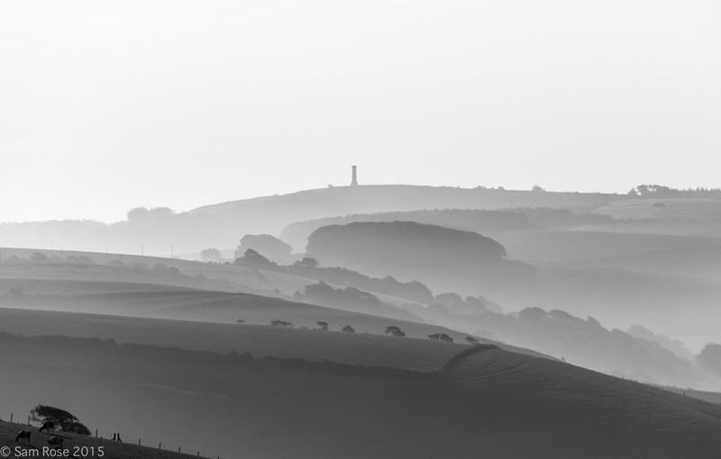 The Hardy Monument, Dorset - Land and seascapes of Dorset and East Devon