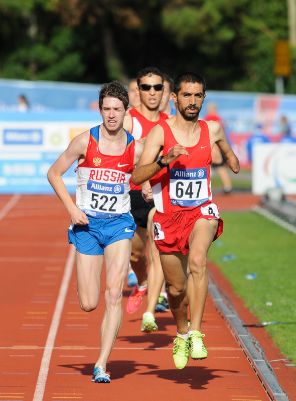 Hanging in there - Swansea IPC European Athletics Championships 2014