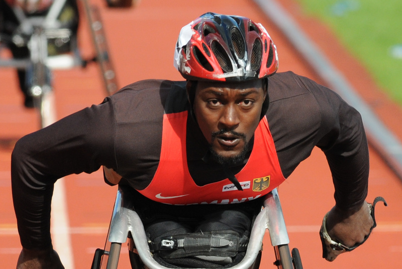 Alhassane Balde (Germany) - Swansea IPC European Athletics Championships 2014