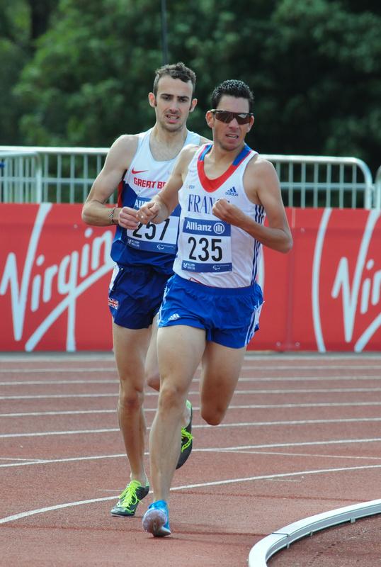 Taking the bend - Swansea IPC European Athletics Championships 2014