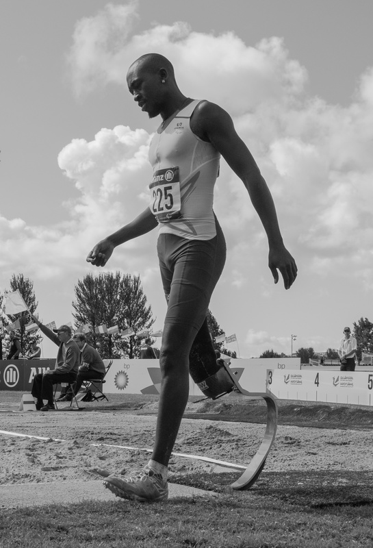 Tall - Swansea IPC European Athletics Championships 2014