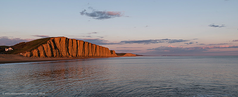East cliff Dusk - Dorset Photos