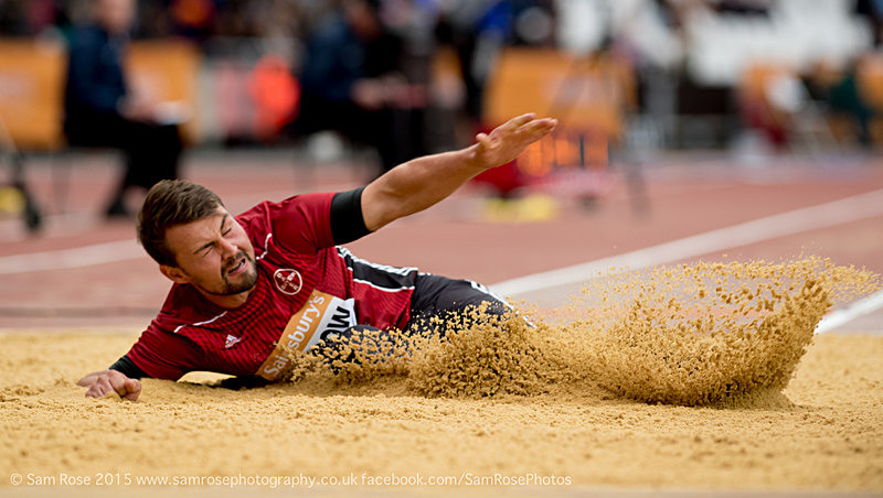 Heinrich Popow (GER) Long Jump Men — T42 & T44 - London Anniversary Games IPC Paralympics day 2015