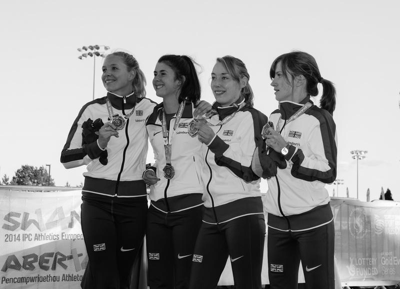 Also happy! - Swansea IPC European Athletics Championships 2014