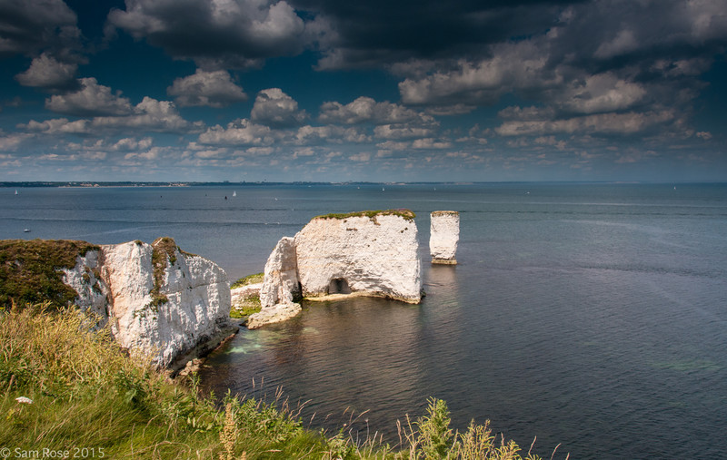 Old Harry Rocks, Purbeck - Land and seascapes of Dorset and East Devon