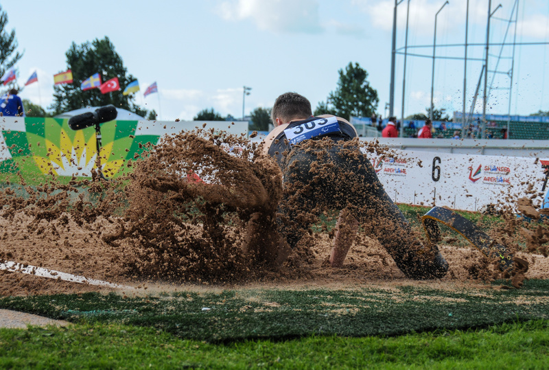 Digging - Swansea IPC European Athletics Championships 2014