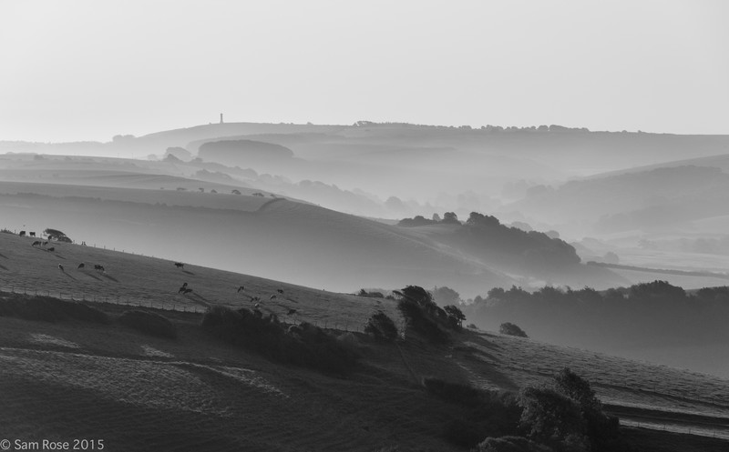 Morning over Dorset - Land and seascapes of Dorset and East Devon