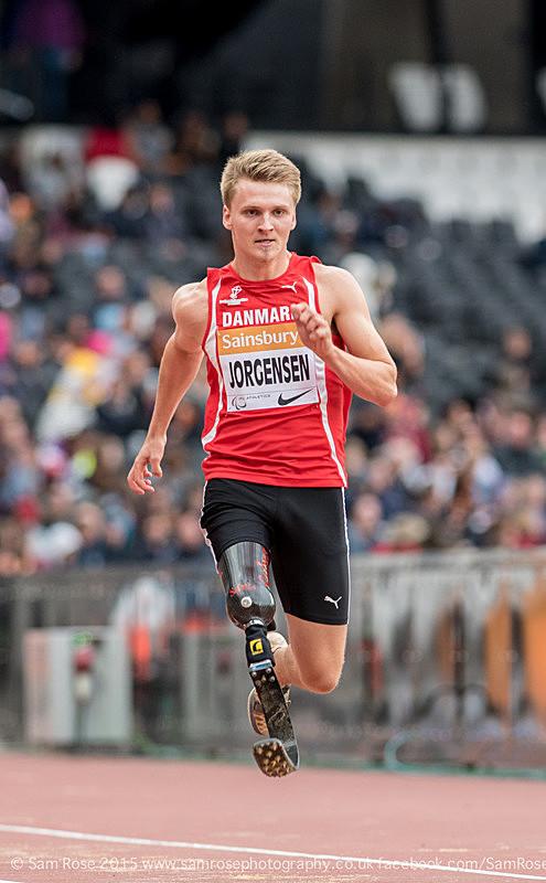 Daniel Jorgensen (DEN) Long Jump Men — T42 & T44 - Bronze medal - London Anniversary Games IPC Paralympics day 2015