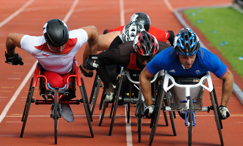 Mens T54 5000m - Swansea IPC European Athletics Championships 2014