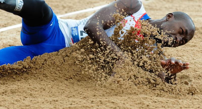Crashing - Swansea IPC European Athletics Championships 2014