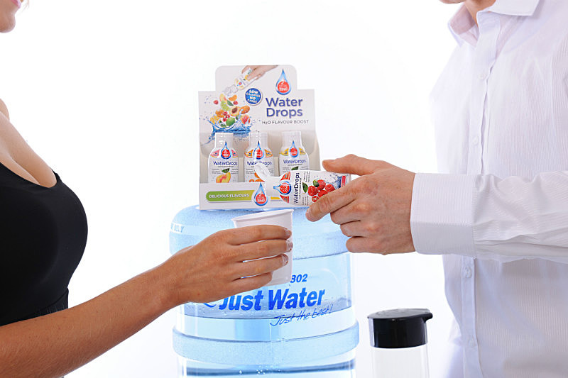 Interactive Product Shot For Vitalzing/Just Water Promotion - Product Photography