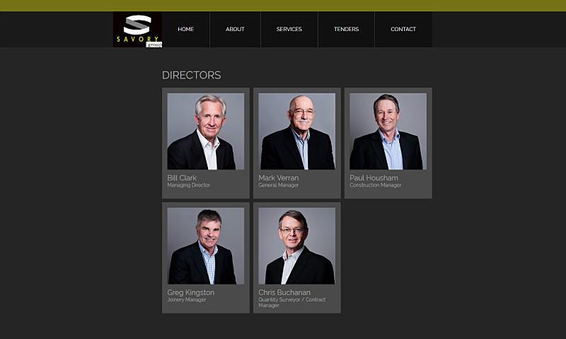 SAVORY GROUP - 30+ staff grey background - Corporate/Self Promotion/Headshots