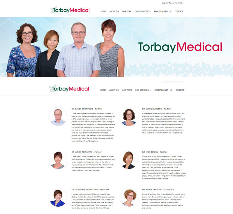 TORBAY MEDICAL CENTRE 20+ staff - white background - Corporate/Self Promotion/Headshots