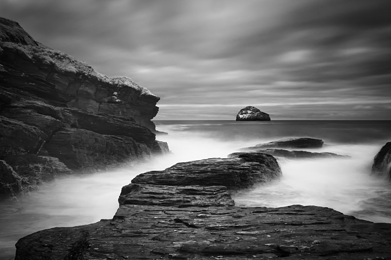 - Seascape - Monochrome