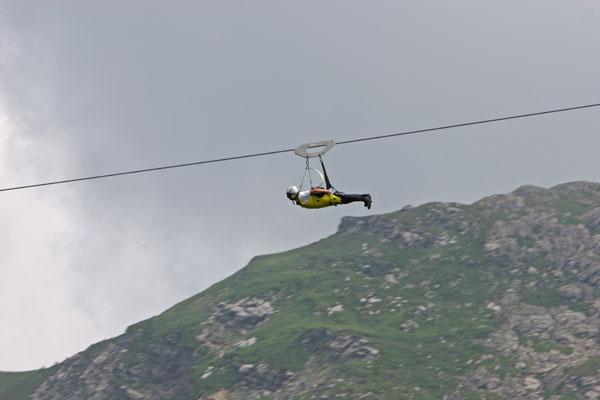 300m above valley floor - Just Fun