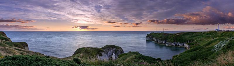 Flamborough Sunrise - Flamborough Panorama's