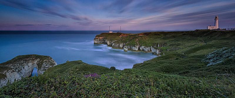 Evening Light - Flamborough Panorama's
