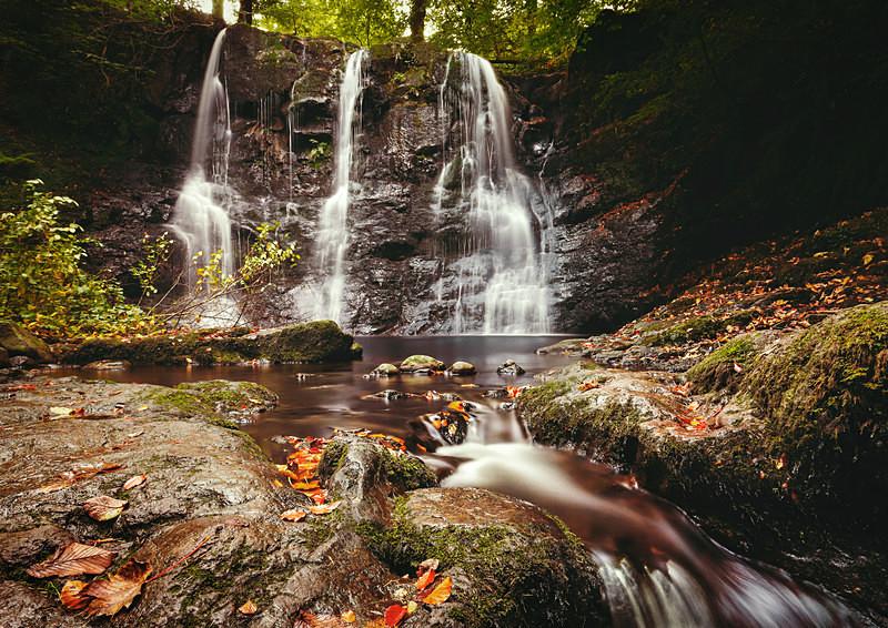 Ess-Na-Crub Waterfall, Glenariff - Irish Landscapes