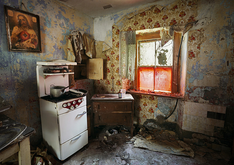 Abandoned Irish Kitchen (ii) - 'Abandoned Ireland'