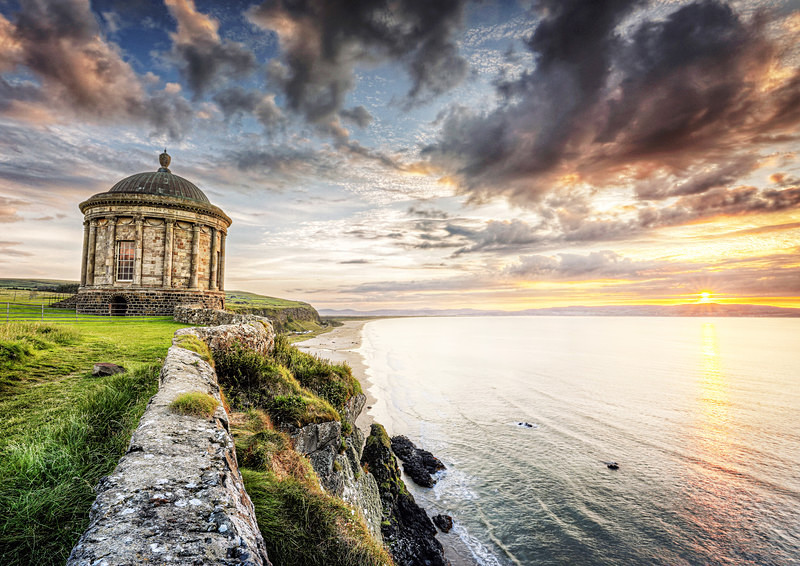 Mussenden Temple - Irish Landscapes