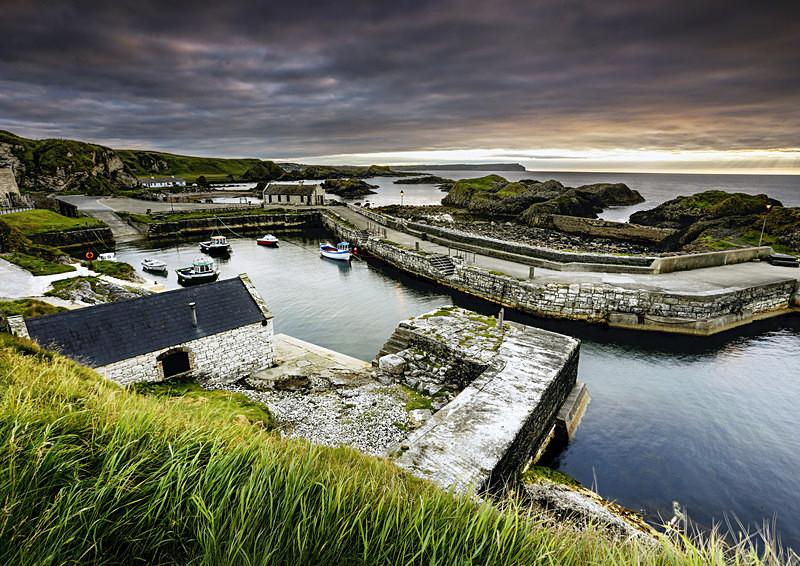 Ballintoy Harbour - Irish Landscapes