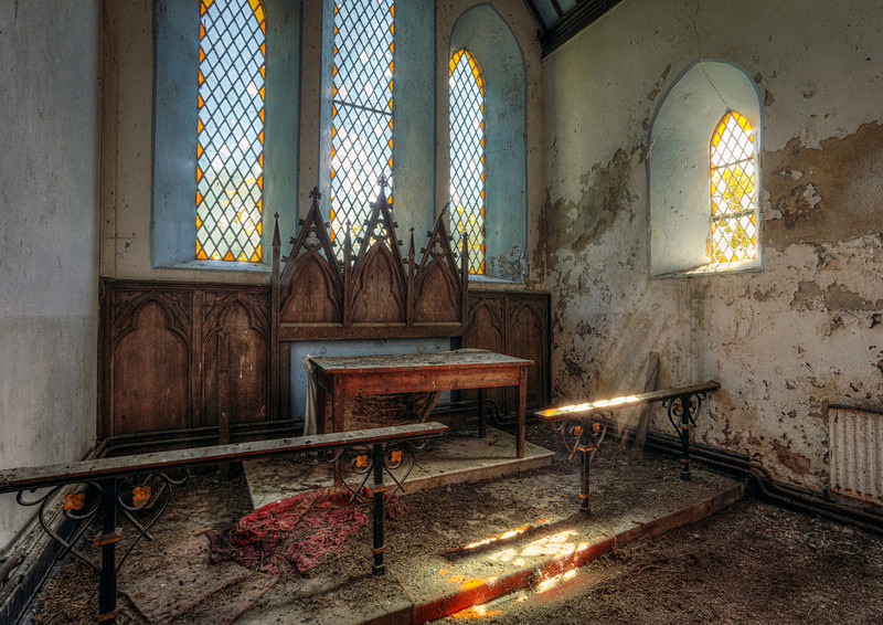 Abandoned Church (iii) - 'Abandoned Ireland'